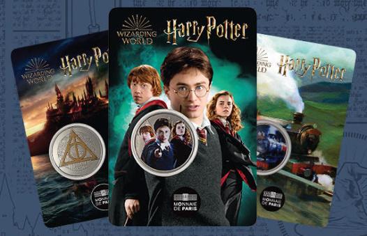 Harry Potter, blisters mini-médailles
