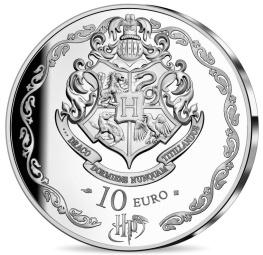 Harry Potter et Dumbledore, monnaie argent revers