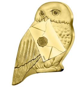 Harry Potter, monnaie Hedwige face