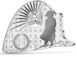 Bicentenaire Napoléon monnaie bicorne 10 € argent