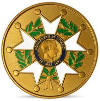 Médaille légion d'honneur Napoléon