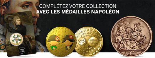Médailles collection Napoléon