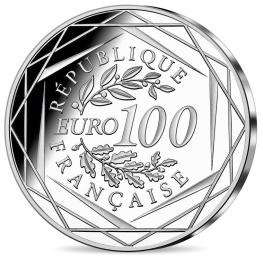 Bicentenaire Napoléon monnaie 100 € argent