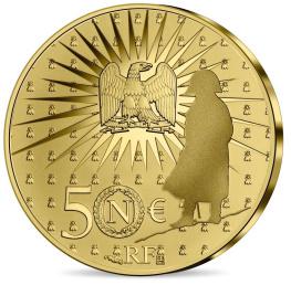 Bicentenaire Napoléon monnaie 50 € or