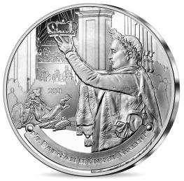 Le Sacre de Napoléon, monnaie argent