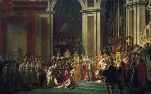 Le Sacre de Napoléon de Jacques-Louis David